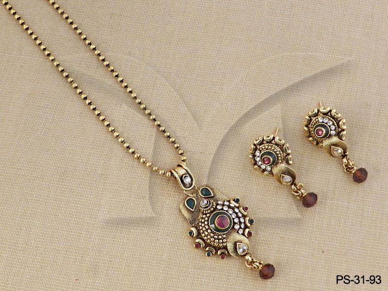Antique Pendant Sets Simple Diamond Pendant Sets Antique