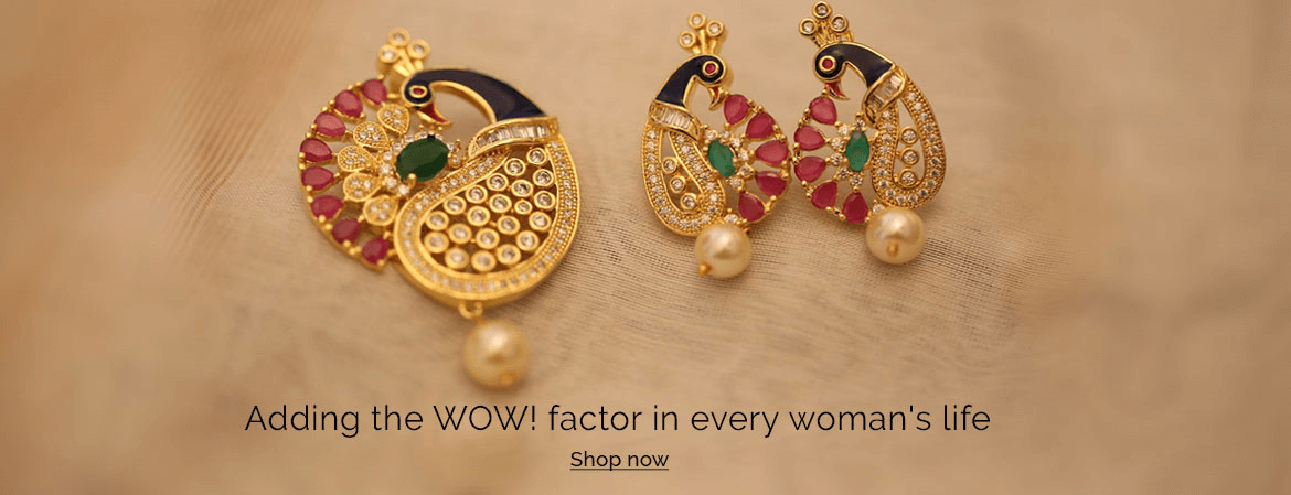 Antique Jewelry | Designer Gold Plated Jewellery | Imitation Jewellery