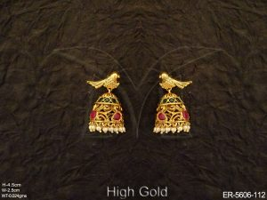 Antique Peacock Earrings