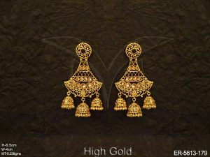 Antique Jhumki Earrings Jewellery