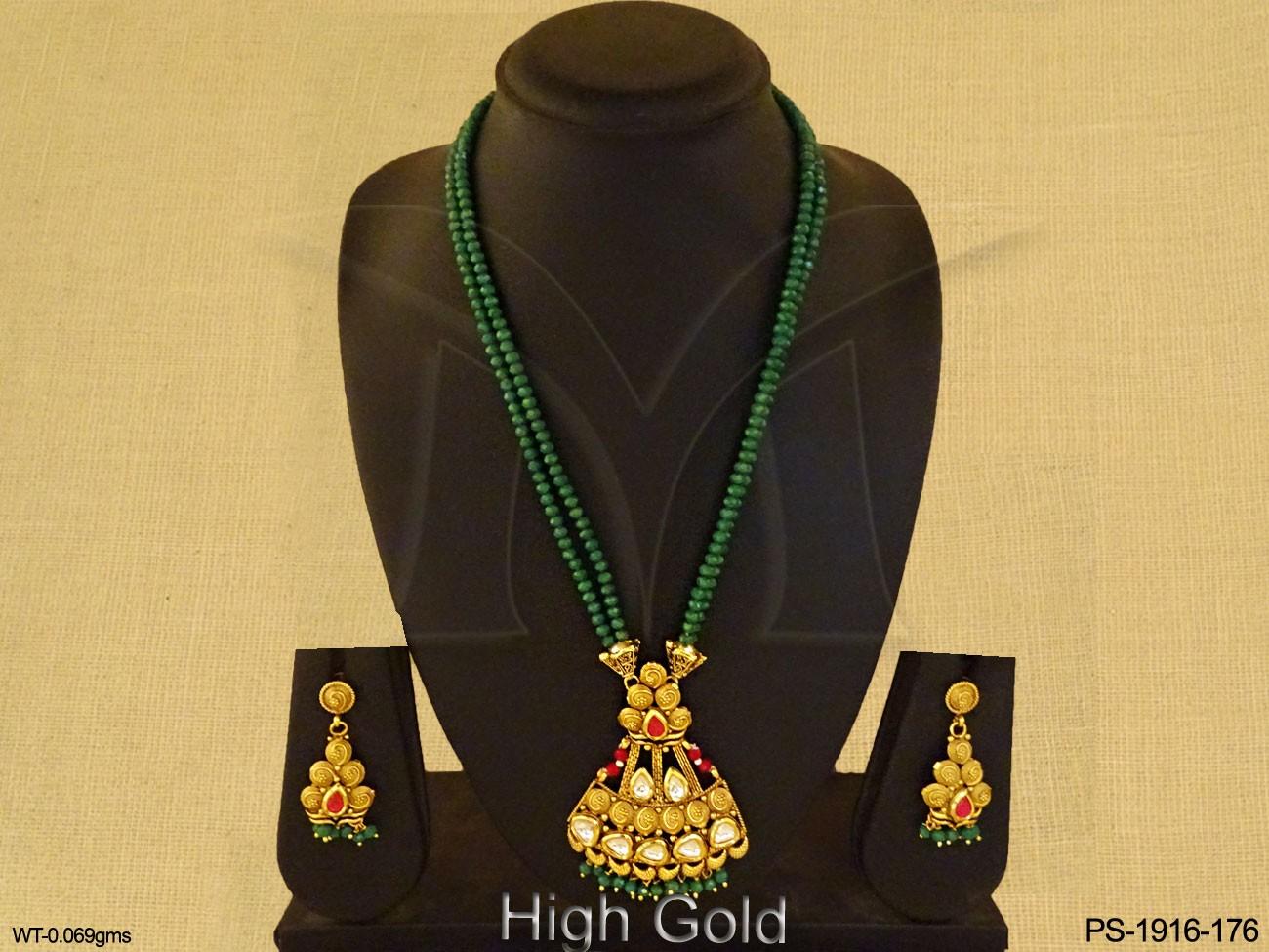 Antique Jewellery Designer Pendant Set