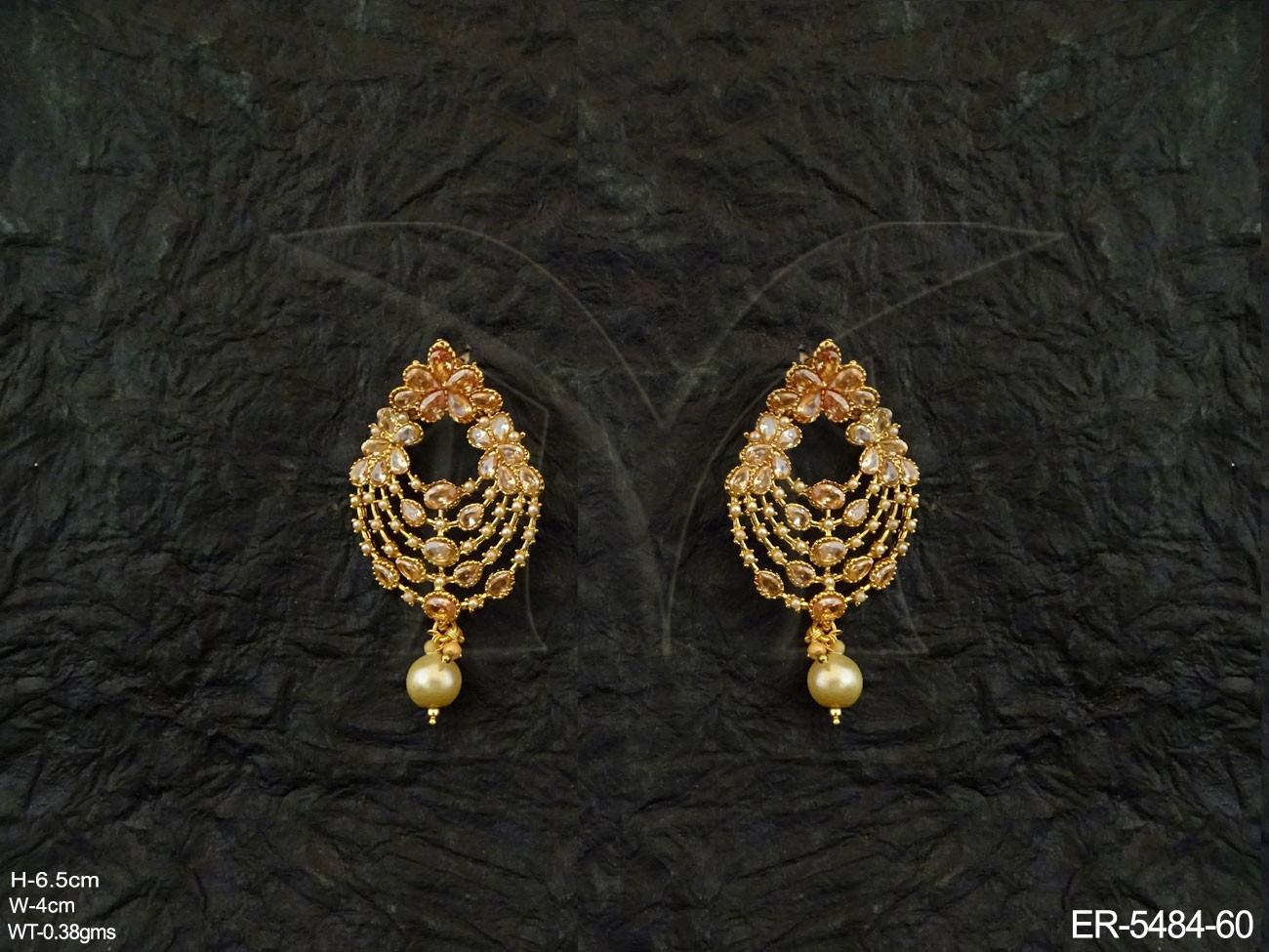 Royal Antique Earrings Jewellery