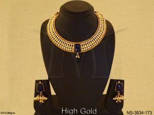 Antique Jewellery Designer Traditional Necklace Set