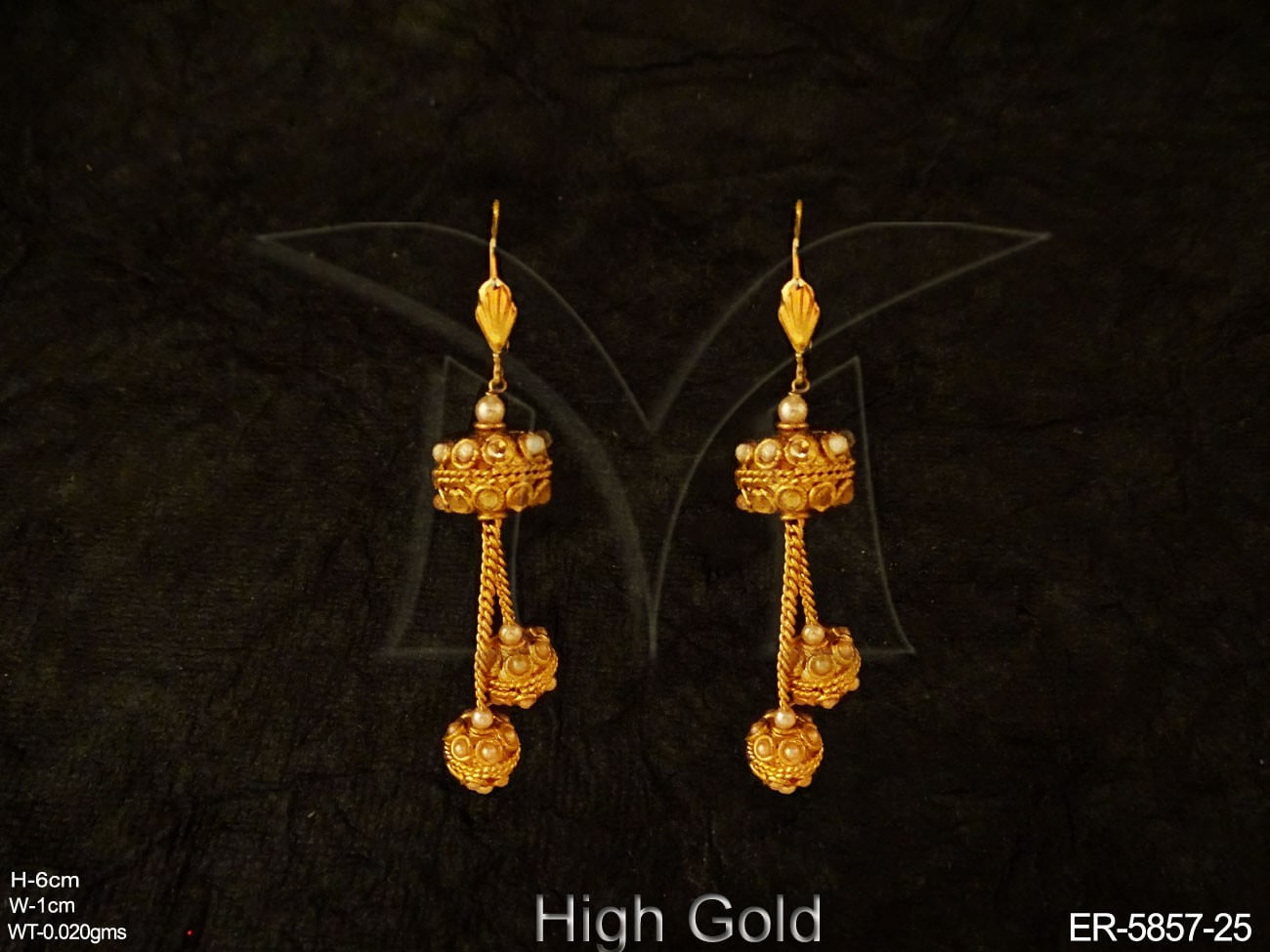 Bollywood Antique Traditional Earrings