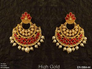 Chand Bali Antique Earrings