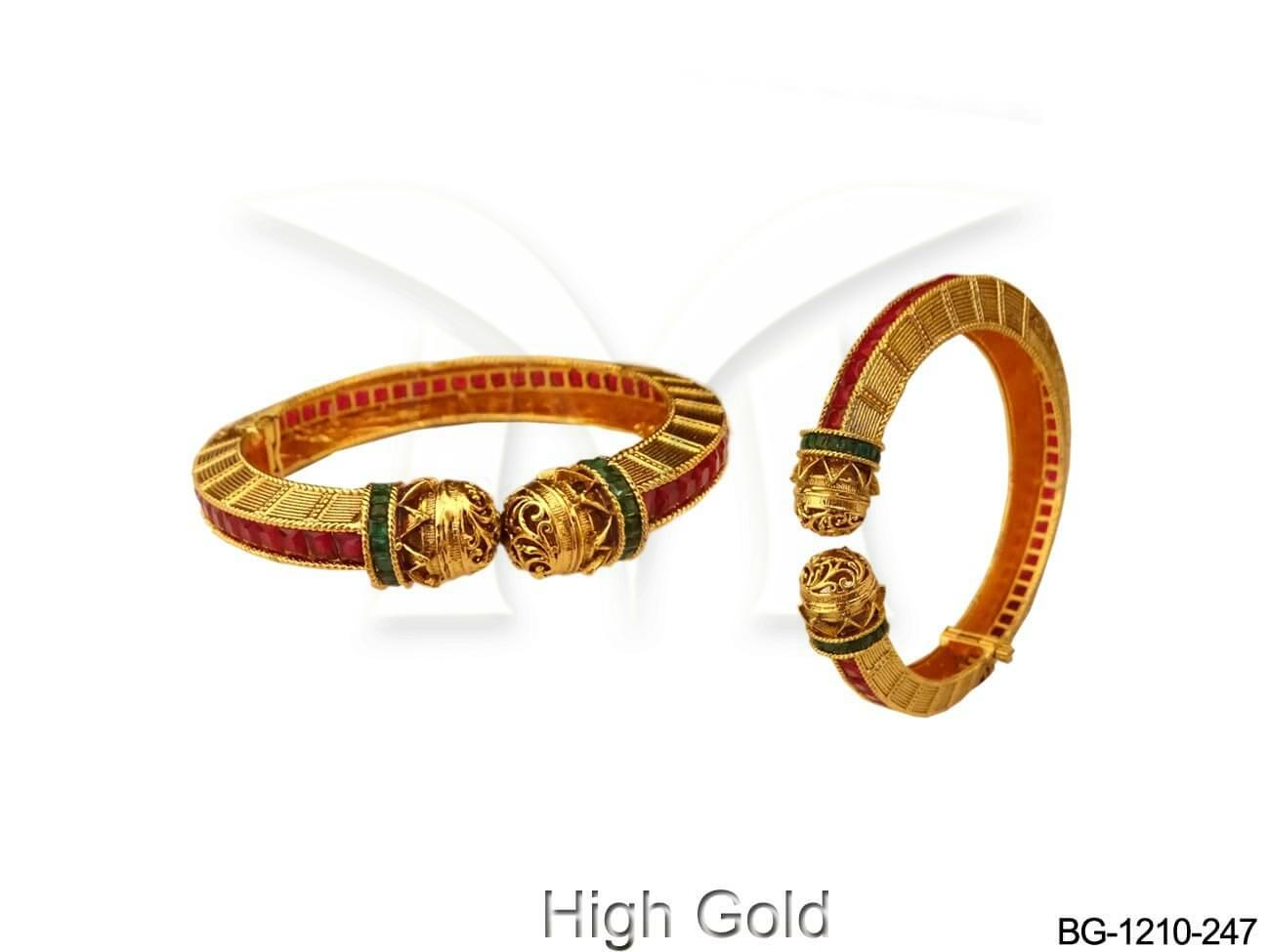 Strong Ends Traditional Antique Bangles