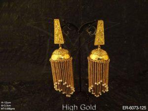 Jhumki Antique Earrings