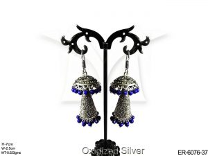 Jhumki Conical Antique Earrings